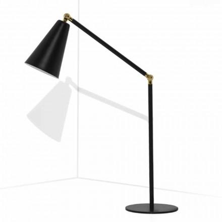 Moderní stolní lampa s kovovou konstrukcí vyrobená v Itálii - Zaira