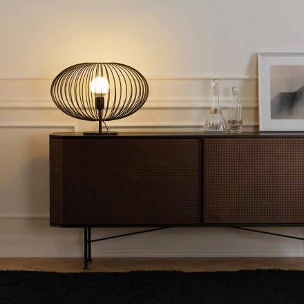 Současná stolní lampa z lakované oceli, 48xH35 cm, Gabriella