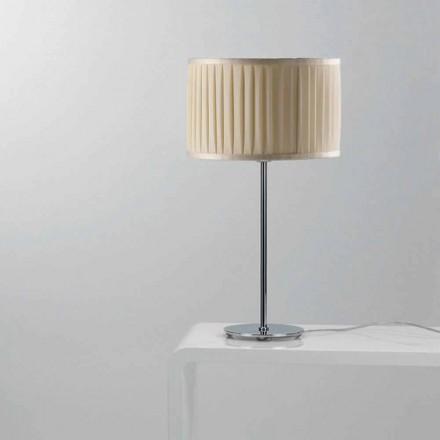 Moderní hedvábný stolní lampa Bamboo