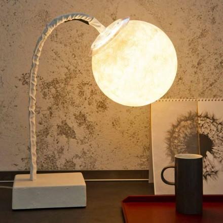 Stolní lampa moderní flexibilní stonka In-es.artdesign MicroT Luna
