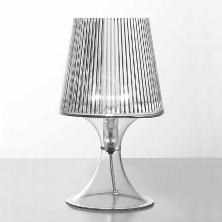 Moderní stolní lampa z polykarbonátu Frosinone