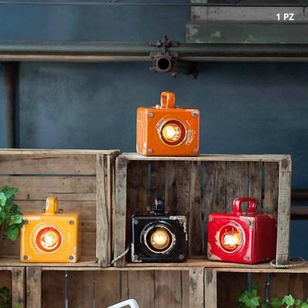 Lampa průmyslové styl keramické tabulky a ferro Valerie