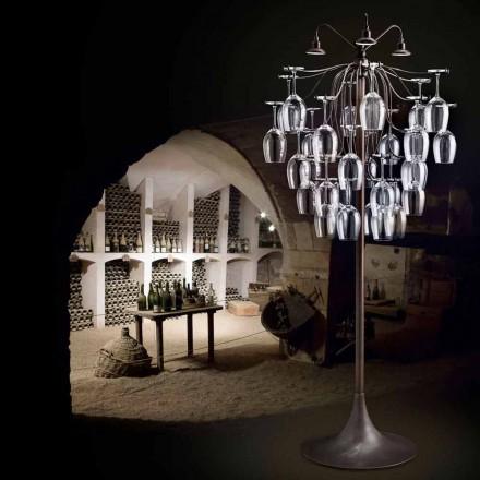 Stojací lampa brýle převrátil 30 Sauvignon