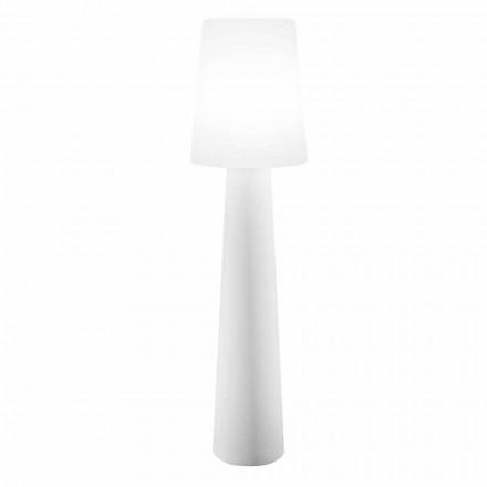 Podlahová lampa s barevným designem, solární nebo E27 venkovní a vnitřní - Fungostar