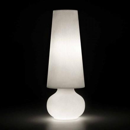 Venkovní stojací lampa s polyethylenovou strukturou vyrobená v Itálii - Desmond