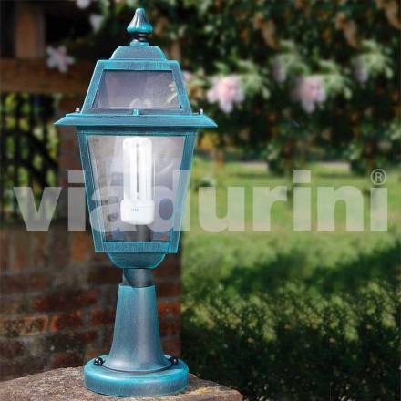 Venkovní stojací lampa z hliníku, vyrobená v Itálii, Kristel