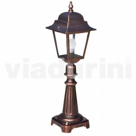 Venkovní podlahové svítidlo vyrobené z hliníku, vyrobené v Itálii, Aquilina