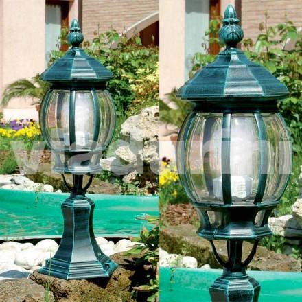 Zahradní stojací lampa z hliníku, vyráběná v Itálii, Anika