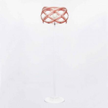Design methakrylát stojací lampa s odstínem Vanna H187 cm dekorum