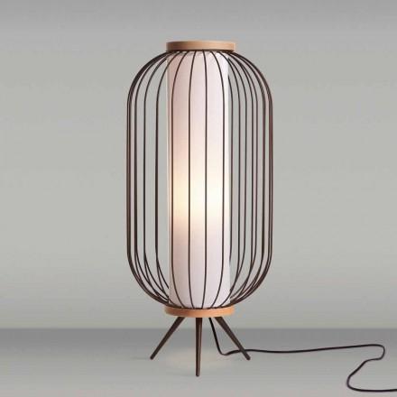 Stojací lampa Moderní design z nerezové oceli o průměru cm 37xH80 Fanny