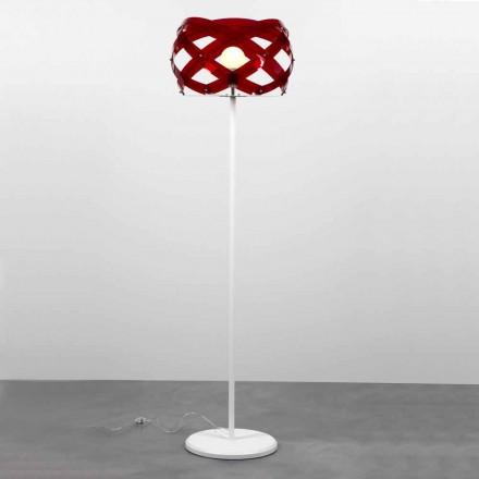 Stojací lampa moderní design v Vanna metakrylátu, H 187 cm