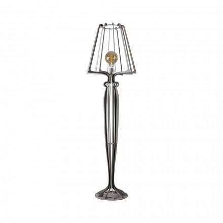 Moderní designová kovová podlahová lampa vyrobená v Itálii - Giunone