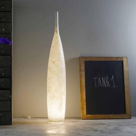 Moderní design H142cm stojací lampa In-es.artdesign Tank 1 barevný