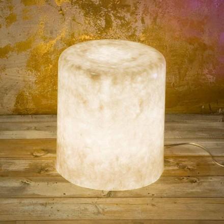 Nebulitová stojací lampa In-es.artdesign Bin F Nebulární design