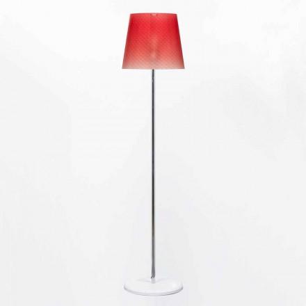 Stojací lampa Design 42 cm průměr polykarbonát Rania