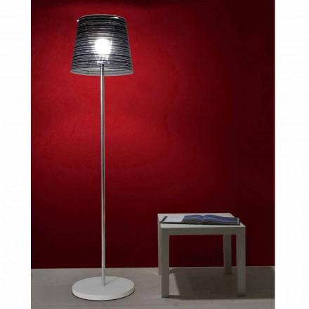 Stojací lampa oslnění odstín a barevné výzdoby, Shana H183cm
