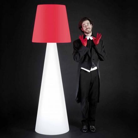 Slide Pivot design bílá podlahová svítidla vyrobená v Itálii