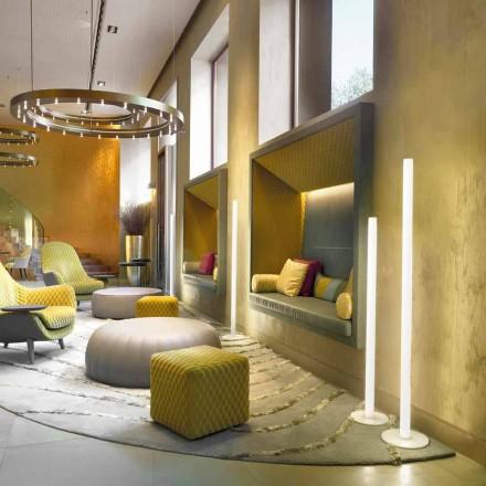 Slide Flux štíhlá podlahová svítidla z methakrylátu vyrobená v Itálii