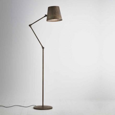 Nastavitelný stojací lampa průmyslové stylu Reporter Il Fanale