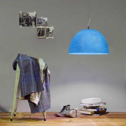Závěsná konstrukční svítilna In-es.artdesign H2o Barevný nebulit
