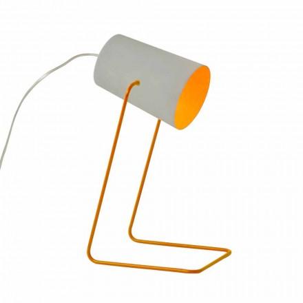 Konstrukční lampa stolku In-es.artdesign Barevný betonový efekt