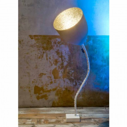 Designové stropní svítidlo In-es.artdesign Flower Painted cement