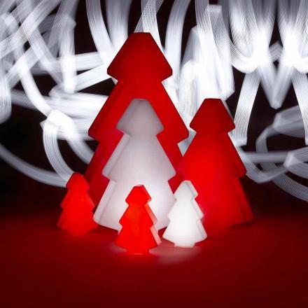 Dekorativní venkovní lampa Slide Lightree Vánoční strom vyrobený v Itálii