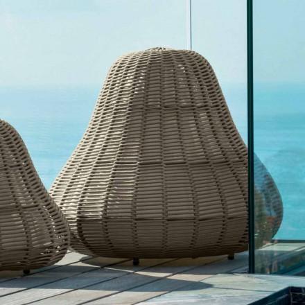 Velká lampa s moderním designem Jackie od Talenti v syntetické šňůře
