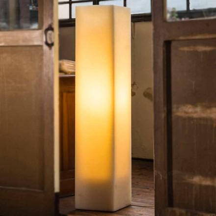 Vysoce poškrábaná vosková lampa vyrobená v Itálii - Dalila