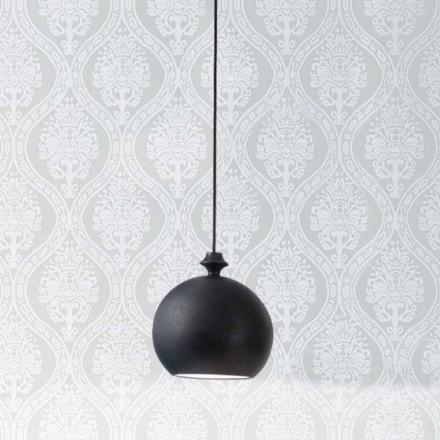 Keramická lampa Lustri 5 Aldo Bernardi, s růžice 1 výstupem.