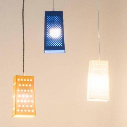 Závěsná laprená lampa In-es.artdesign Cacio & Pepe 2 barevná