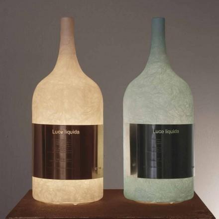 Stolní lampa v barevném nebulitu In-es.artdesign Luce Liquid1