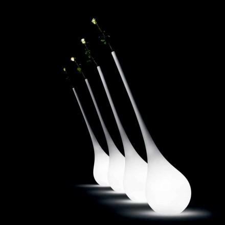 Designová plastová lampa se světelnou vázou na květiny - Ampule od Myyour