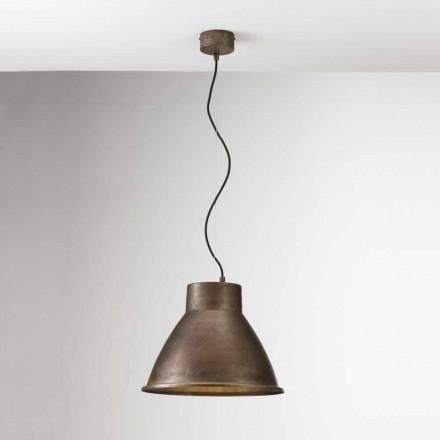 Průmyslová lampa železa závěsném Loft Media Il Fanale