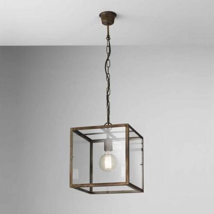 Průmyslová lampa železa suspenze London Il Fanale