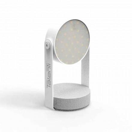 LED venkovní stolní lampa, bílý hliník nebo grafit - Tofee od Talenti