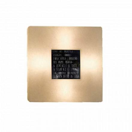 Moderní nástěnná svítidla In-es.artdesign Fragmenty 3 design nebulitů