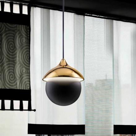 Moderní lampa keramická odpružení Lustri 9