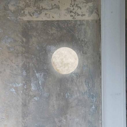Moderní nástěnná svítidla In-es.artdesign A. Měsíc v nebulitu