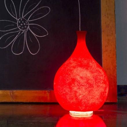 Moderní stolní lampa In-es.artdesign Luce2 světlo v nebulitu