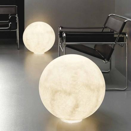 Moderní kuličková stolní lampa In-es.artdesign Nebulita podlahového měsíce