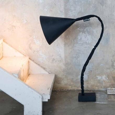 Moderní stojací lampa In-es.artdesign Flower Resin blackboard