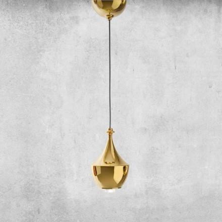 LED závěsná keramická lampa vyrobená v Itálii - Lustrini L3 Aldo Bernardi
