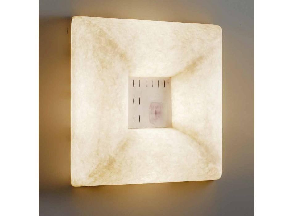 Bílá nebulitní nástěnná svítidla In-es.artdesign Design Dada Luna 1