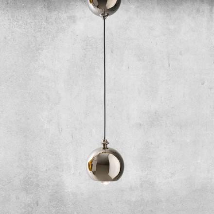 Moderní závěsná lampa v keramice Vyrobeno v Itálii - Lustrini L5 Aldo Berrnardi