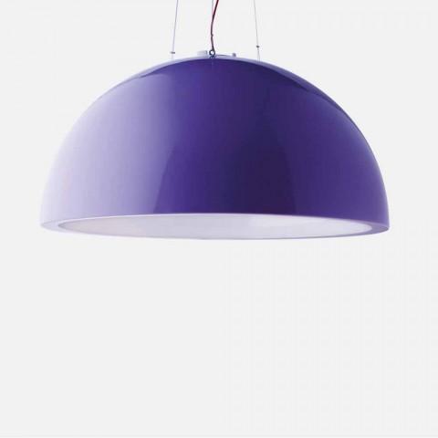 Barevné závěsné svítidlo Slide Cupole polyethylen vyrobené v Itálii