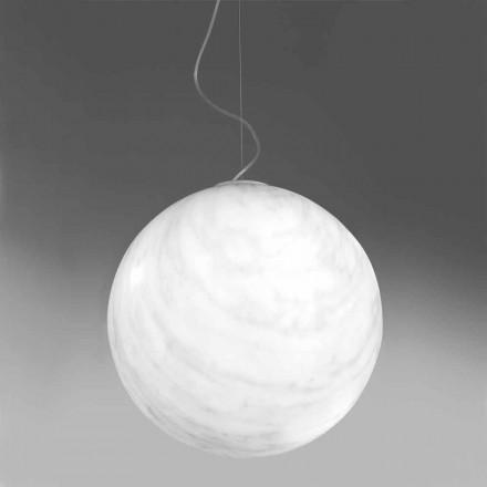 Moderní závěsná lampa z polyethylenu Slide Mineral