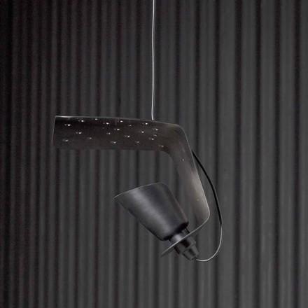 Designová závěsná lampa z kovu a hliníku Tractor - Toscot