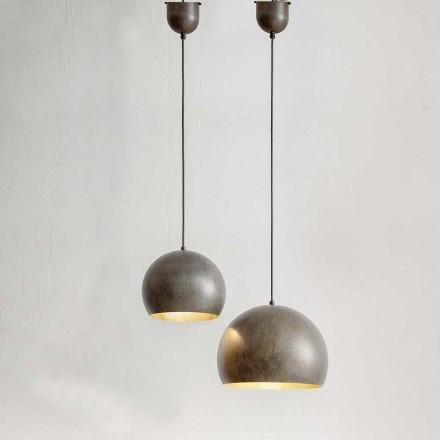 Závěsná lampa v ocelovém průměru 300 nebo 400 mm - Materia Aldo Bernardi
