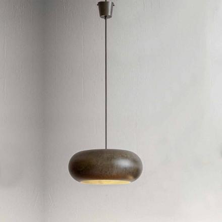 Závěsná lampa v ocelovém průměru 500 mm - Materia Aldo Bernardi
